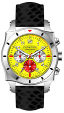 LUXURY DESIGNER CHRONOGRAPH WATCH TIMOR FROM THE HOME CAVADINI IN YELLOW MODEL