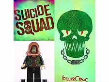 Dc comic Marvel Super Hero Suicide Squad Killer Croc Mini figures fit Lego