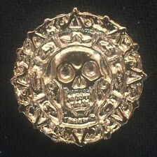 Pirates of the Caribbean Aztec coin halloween prop life size 1 to 1 scale metal
