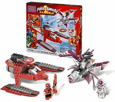 MEGA BLOKS POWER RANGERS SUPER SAMURAI RED RANGER confronto 5789