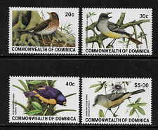 Dominica #696-9 Mint Never Hinged Complete Set - Birds