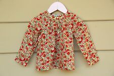 2T Stunning Bonpoint liberty Blouse with Smoke French Designer adorable details