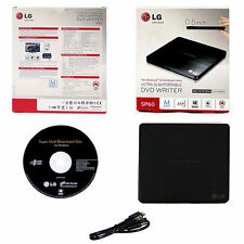 LG SP60NB50 USB 2.0 Portable Ultra Slim External CD DVD RW Drive Burner Writer