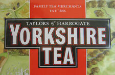 YORKSHIRE TEA BAGS X 240 PACK POSTED WORLDWIDE LETS HAVE A PROPER BREW