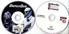 STATUS QUO Aquostic! Live At The Roundhouse promo test CD & DVD + press release