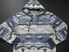 DENIM & SUPPLY RALPH LAUREN Men's Southwestern-Print Terry Full-Zip Hoodie XL
