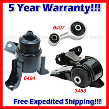 M078 Fits 2003-2008 Mazda 6 i Sedan 2.3L AUTO, Engine Motor Mount Set 3pcs
