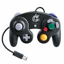 Nintendo Wii Official Super Smash Bros. Black Classic Gamecube Controller JP New