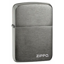 Zippo 24485 Zippo name black ice full size Lighter