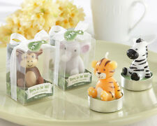 Born to be Wild Animal Candles Set of 4 Baby Shower Candle Favors