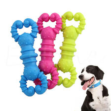 Harmless Pet Dog Cat Chew Toy Fish Bone Shrimp Puppy Clean Teeth Fetch Toys NEW
