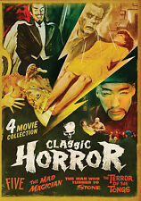 Classic Horror 4 Movie Pack: Five, The Mad Magician, Man Who Turned to Stone, Te