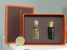 CARMEN VICTORIO & LUCCHINO + ABRIL V&L edt MINIATURES 4 ml each one new in box