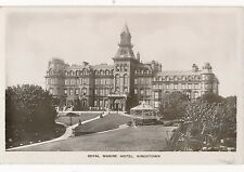 POSTCARD   KINGSTOWN  Royal  Marine  Hotel