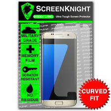 ScreenKnight Samsung Galaxy S7 Edge SCREEN PROTECTOR invisible shield CURVED FIT