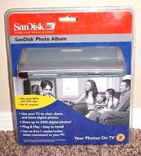 *NEW* SanDisk Digital Photo Album View, Share Digital Photos on TV w/Remote