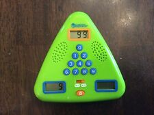 LEARNING RESOURCES MINUTE MATH ELECTRONIC FLASH CARD ADD SUBTRACT MULTIPLICATION
