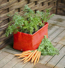 2 Haxnicks Carrot Patio Planter Growbags grow your own vegetables raised bed
