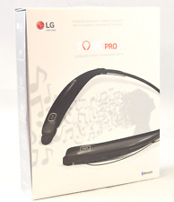 LG Tone PRO HBS-770 Bluetooth Wireless Stereo Headset Black - Free Shipping -BN
