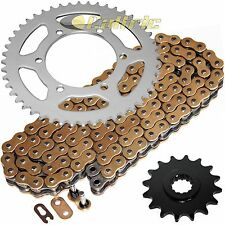 Golden O-Ring Drive Chain & Sprockets Kit Fits YAMAHA R6 YZF-R6 2003 2004 2005