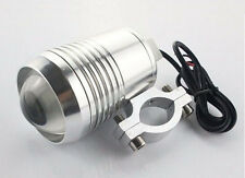 "1x Motorcycle U3 Cree LED 4"" LENGTH Fog Spot Light Lamp ROYAL ENFIELD -WHITE"
