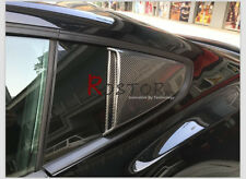 FRP FIBER GLASS RO STYLE REAR WINDOW SIDE SCOOP FOR FORD 2015- MUSTANG