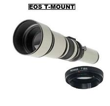 Bower 650-1300mm Telephoto Lens for Canon EOS DSLR Cameras (See listed models)