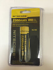NEW Genuine NITECORE 18650 NL183 2300 mah Rechargeable Battery Li-ion Protected