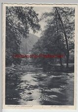 (87225) AK Sitzendorf im Schwarzatal, An der Schwarza 1930er