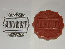 Stampin up Stempel Advent NEU Weihnachten Edles Etikett