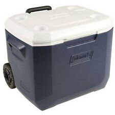 Coleman 50 Quart Xtreme Cooler Ice Chest For Picnic Camping Tailgating Blue