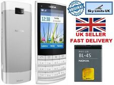 Nokia X3-02 New Condition Touch and Type White Silver 3G Unlocked Mobile Phone