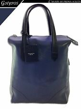 BORSA DONNA PELLE - TOSCA BLU - WOMAN HANDBAG LEATHER B47