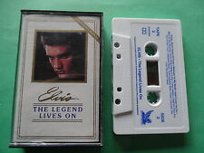 elvis presley the legend lives on cassette tape like new australian