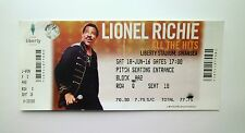 LIONEL RICHIE MEMORABILIA - Ticket Stub(s) Liberty Stadium - Swansea 18/06/16