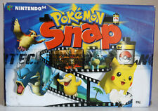 RARE 2000 NINTENDO 64 POKEMON SNAP EUROPEAN EDITION PAL N64 BRAND NEW MIB !