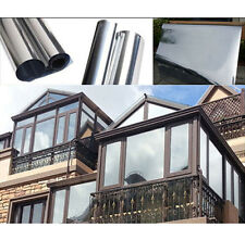 Sun reflector silver window film one way mirror Insulation sticker threatment
