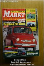 Oldtimer Markt 2/96 Steyr Puch Horch Citroen CX