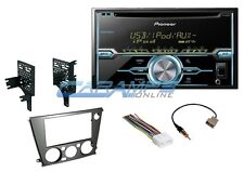 NEW PIONEER DOUBLE 2 DIN CAR STEREO RADIO WIT HINSTALL KIT FOR 2005-2009 SUBARU