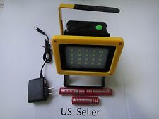 Rechargeable wireless outdoor 30W 20 LED Flood Spot Work Light Camping FREE SHIP
