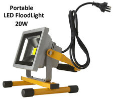NEW Portable 20W LED Work Flood Light Outdoor Camping Free Standing IP65