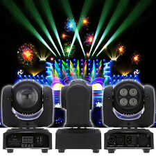 Double Sides RGBW Spot + 4x LED Moving Head Stage Lighting DMX512 DJ Party Light