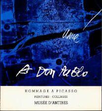 À DON PABLO. Hommage à Picasso. Peintures-Collages - Antoni Clavé - BP