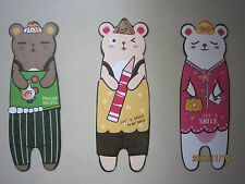 Cute Mouse/Mice Bookmarks 3pcs