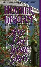 And One Wore Gray Graham Suspense Love Book Novel Serious Passion Romance USA