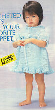 RUFFLED Summer Toddler Dress/Baby/Crochet Pattern INSTRUCTIONS ONLY