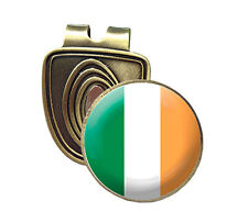 IRELAND FUSION CAP CLIP & MAGNETIC GOLF BALL MARKER IN BRONZE