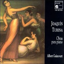 Joaqu­in Turina: Obras Para Piano~Harmonia Mundi CD~Albert Guinovart~New~Sealed