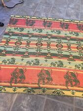 VTG Beacon Camp Blanket with Native American, Indian Design