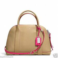 Coach Bag F30165 Bleecker Edgepaint Leather Preston Beige Satchel agsbeagle COD